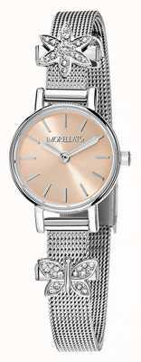 Morellato 女式tesori不锈钢魅力腕表 R0153122582