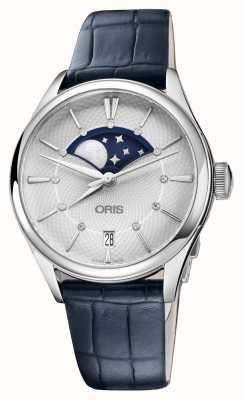 Oris Artelier重型lune月相约会 01 763 7723 4051-07 5 18 64FC
