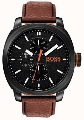 Hugo Boss Orange 男士手表黑色表盘 1550028