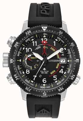 Citizen 生态驱动promaster altichron潜水员的表带 BN4044-15E
