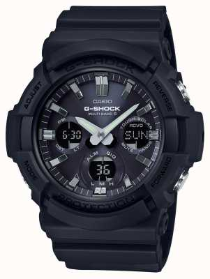 Casio Waveceptor闹钟计时器灰色/黑色 GAW-100B-1AER