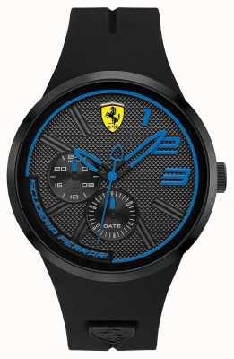 Scuderia Ferrari 男士黑色硅胶 0830395