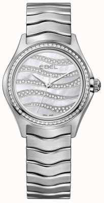 EBEL 女装浪潮94钻石不锈钢腕表 1216270