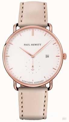 Paul Hewitt 女人盛大的大西洋玫瑰金不锈钢表壳 PH-TGA-R-W-22S