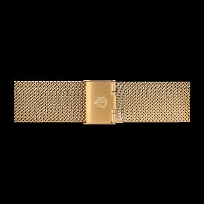 Paul Hewitt 金色不锈钢网眼表带尺码s PH-M1-G-4S