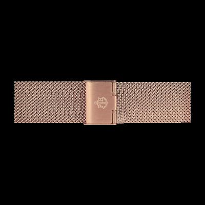 Paul Hewitt 玫瑰金不锈钢网状手链186mm PH-M1-R-4M