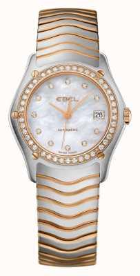 EBEL 女装波浪钻石套装双色自动腕表 1215928