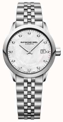 Raymond Weil 女性自由职业者的珍珠母表盘之母 5629-ST-97081