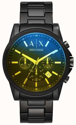 Armani Exchange 男士外滩不锈钢手镯 AX2513