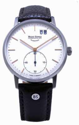 Bruno Sohnle 斯图加特ii 42毫米棕色皮革手表 17-13179-245