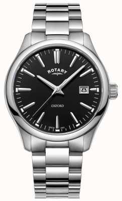 Rotary 男士牛津手表不锈钢表链 GB05092/04