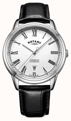 Rotary 男士剑桥白色不锈钢自动 GS05250/01