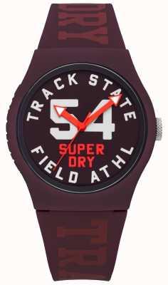Superdry 跟踪状态打印拨号桑strap表带 SYL182RR