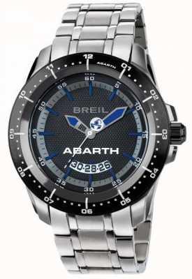 Breil Abarth不锈钢ip黑色和蓝色表盘 TW1487