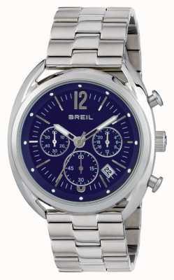 Breil Beaubourg不锈钢计时蓝色表盘 TW1665