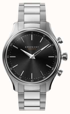 Kronaby 38毫米sekel蓝牙钢金属手镯smartwatch A1000-2750