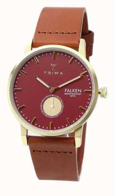 Triwa 女装红宝石falken棕色经典 FAST117-CL010212