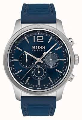 Hugo Boss 男士专业计时腕表蓝色 1513526
