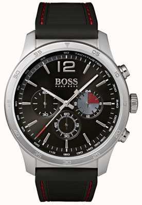 Hugo Boss 男士专业计时腕表黑色 1513525