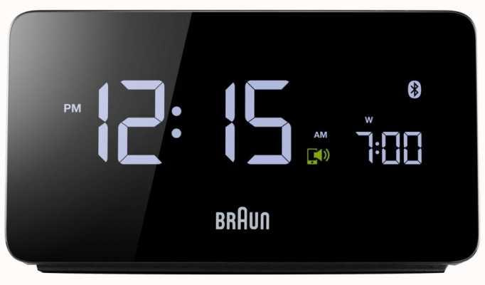 Braun 防爆显示数字蓝牙闹钟 BNC020BK EX DISPLAY