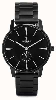 Weird Ape Mayfair黑色表盘白色标记黑色手链 WA02-005622