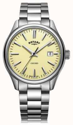 Rotary 男士牛津手镯不锈钢 GB05092/32