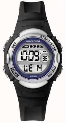 Timex 马拉松黑色橡胶手表 TW5M14300