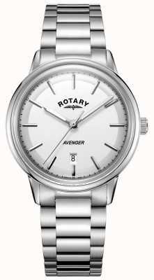 Rotary 男士复仇者手表不锈钢手镯 GB05340/02