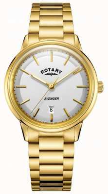 Rotary 男士复仇者手表金色的口气 GB05343/02