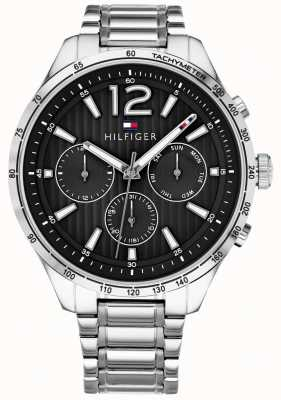 Tommy Hilfiger 男士gavin计时腕表不锈钢表链 1791469