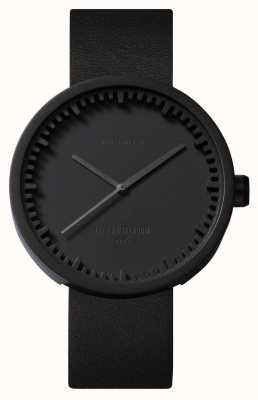 Leff Amsterdam Tube Watch D42黑色表壳黑色皮革表带ex-display LT72011EX-DISPLAY