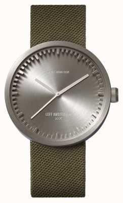 Leff Amsterdam 管表d42精钢表壳绿色cordura表带 LT72004