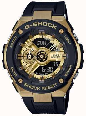 Casio G-shock g-steel黑色和金色 GST-400G-1A9ER