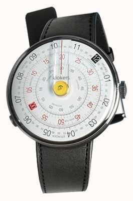 Klokers Klok 01黄色手表头黑色缎单肩带 KLOK-01-D1+KLINK-01-MC1