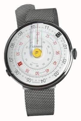 Klokers Klok 01黄色手表头钢米兰表带 KLOK-01-D1+KLINK-05-MC1
