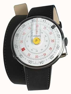 Klokers Klok 01黄色手表头垫黑色双表带 KLOK-01-D1+KLINK-02-380C2