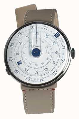 Klokers Klok 01蓝色手表头grege strait单肩带 KLOK-01-D4.1+KLINK-04-LC9
