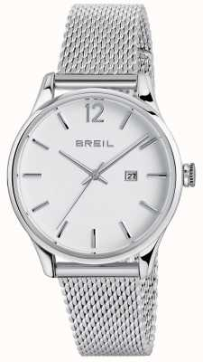 Breil 自动当代不锈钢三手白色表盘 TW1567