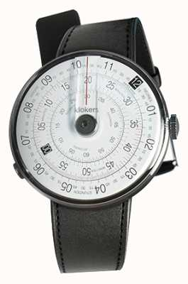 Klokers Klok 01黑色手表头黑色缎单肩带 KLOK-01-D2+KLINK-01-MC1