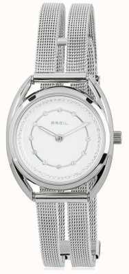 Breil 小号不锈钢银水晶表盘 TW1652
