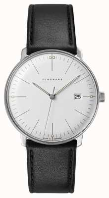 Junghans Max bill quartz |黑色皮革表带 041/4817.04