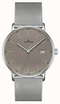 Junghans 形式石英灰色表盘手表 041/4886.44