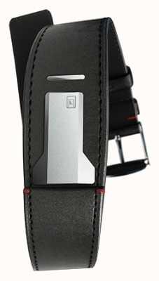 Klokers Klink 01缎面黑色表带仅22mm宽230mm长 KLINK-01-MC1