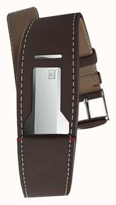 Klokers Klink 01巧克力棕色表带仅22mm宽230mm长 KLINK-01-MC4