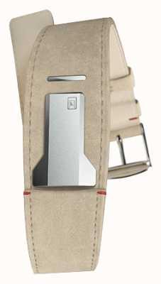 Klokers Klink 01灰色阿尔坎塔拉表带仅22mm宽230mm长 KLINK-01-MC6
