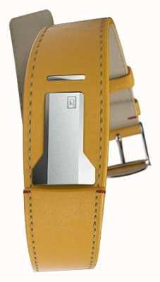 Klokers Klink 01纽波特黄色表带仅22mm宽230mm长 KLINK-01-MC7.1