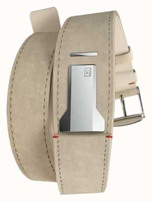 Klokers Klink 02灰色alcantara双表带仅18mm宽380mm KLINK-02-380C6
