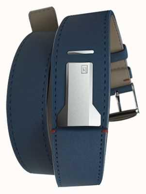 Klokers Klink 02靛蓝蓝色双表带仅22mm宽420mm长 KLINK-02-420C3