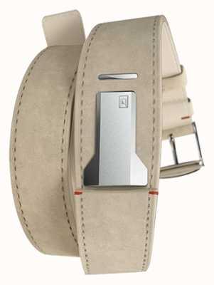 Klokers Klink 02灰色alcantara双表带仅22mm宽420mm KLINK-02-420C6