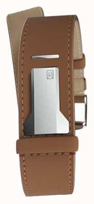 Klokers Klink 04焦糖直单肩带仅22mm宽230mm KLINK-04-LC12